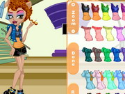 Play Monster High Howleen Wolf Dress Up