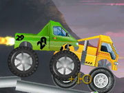 Play Monster Truck Halloween Race