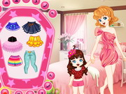 Play Mother And Daughter Dressup