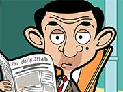 Play Mr. Bean Jigsaw