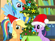 Play My Little Pony Christmas Disaster