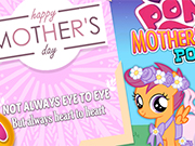 Play My Little Pony Mother's Day Poster