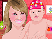 Play My Mom Spa Facial Makeover