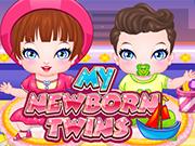 私の生まれたばかりの双子