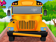 Play My School Bus Cleaning