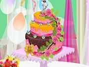 Play My Wedding Cake Décor