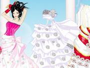 私の結婚式の日のドレスアップ