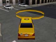 ニューヨークのタクシーライセンス3D