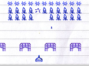 Play Notepad Invaders
