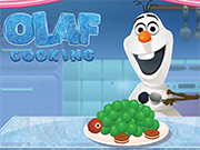 Play Olaf cooking Turtle Cake