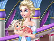 Play Old Elsa care baby