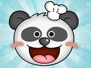 パンダをクリック