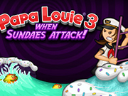 Play Papa Louie 3: When Sundaes Attack