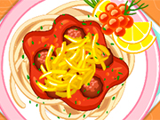 Play Pasta And Meatballs