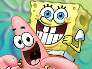 Play Patrick And Sponge Puzzle