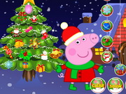 Play Peppa Pig Christmas tree Decoration