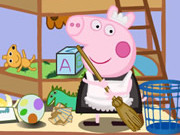 Play Peppa Pig Clean Room