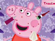 Play Peppa pig facial treatment