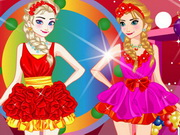 Play Perfect Sister Valentine Dressup