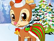 Play Pet Stars: Cute Reindeer