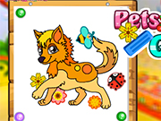 Play Pets Coloring