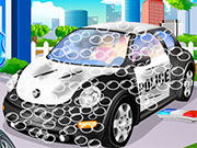 Play Police Car Wash 2