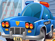 Play Police Car Wash