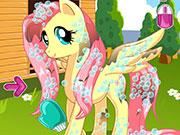 Play Pony Makeover Hhair Salon