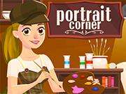 肖像画コーナー
