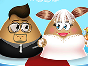 Play Pou Girl Wedding Party