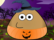Play Pou Halloween Costume