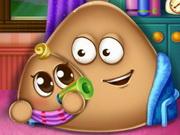 Play Pou Has a Baby