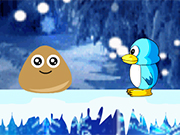 Play Pou Ice Adventure