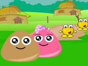 Play Pou Village Adventure