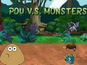Play Pou vs Monsters