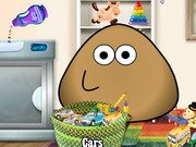 Play Pou Washing Toys