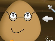 Play Pou Wearing Glasses