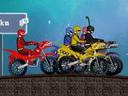 パワーレンジャーのレース