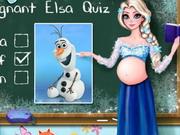 Play Pregnant Elsa Quiz