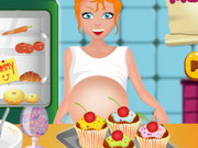 Play Pregnant Mom Cooking Muffins