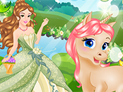 Play Princess and Her Magic Unicorn