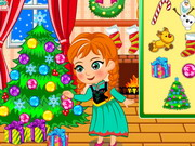 Play Princess Anna Christmas Slacking