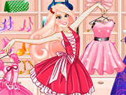 Princess Barbie Dressing Room