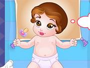 プリンセスベルの赤ちゃんは、夜にウェイクアップ