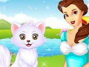 プリンセスベルの子猫のお手入れ