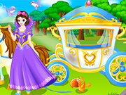 Play Princess Carriage Wash