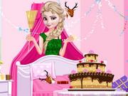 Princess Elsa Birthday Cleaning