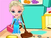 Play Princess Elsa Clean