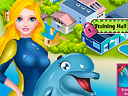 Play Princess Elsa Dolphin Show