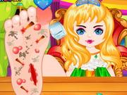 プリンセス足の手術